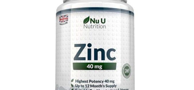 Zinc Nu U Nutrition – Integratore di Zinco