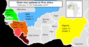 virus Ebola epidemia