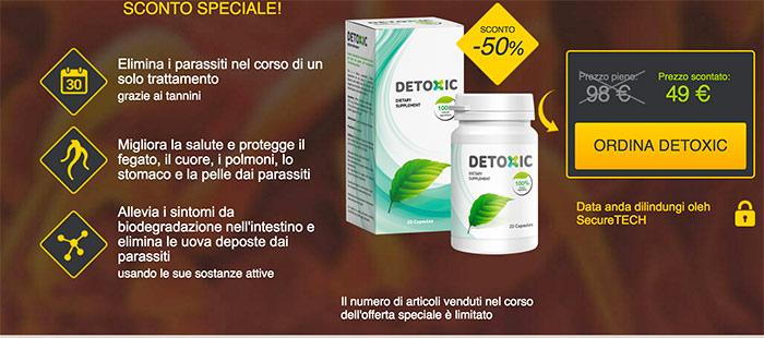 Detoxic: Come Eliminare i Vermi Intestinali