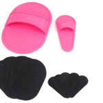 set di cuscinetti esfolianti e depilanti per una pelle liscia su gambe braccia viso – dischetti depilatori