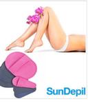 sun depil kit guanti per una depilazione senza dolore nuovo esfoliante