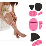 tradeshoptraesio – depilazione guanto con micro-cristalli esfoliante epilatore indolore gambe viso