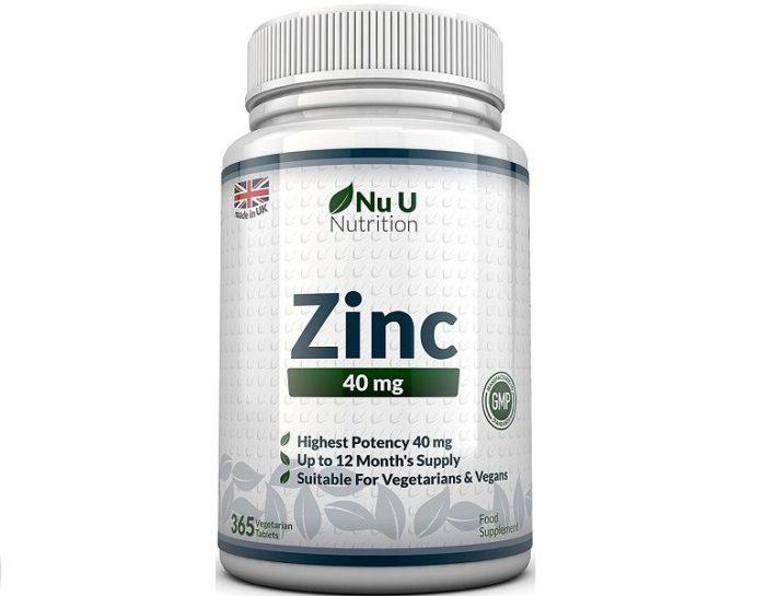 zic nu u nutrition integratore di zinco
