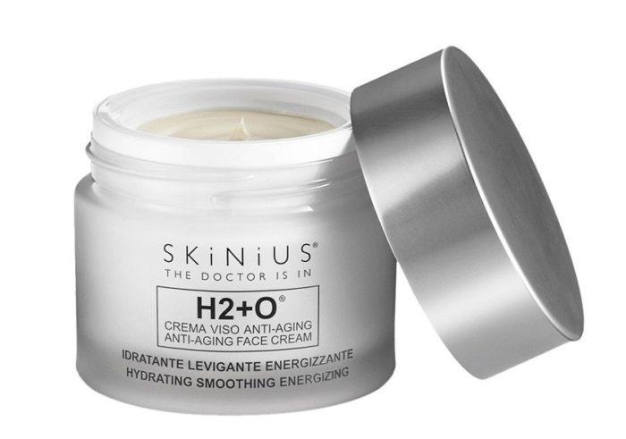 skinius h2 o crema viso antiaging
