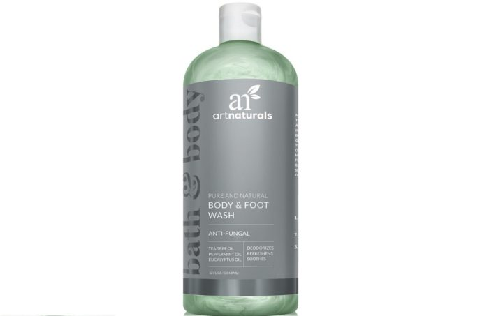 art naturals sapone antifungino con olio di tea tree