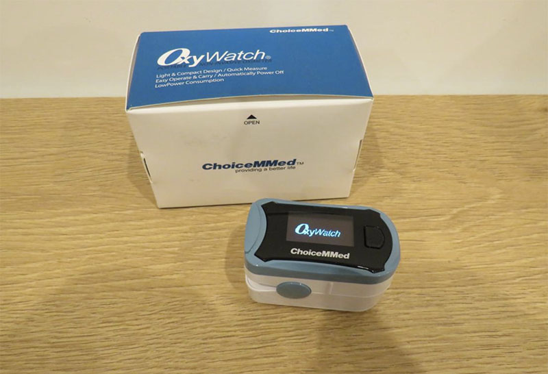 BeOXYGEN Oxy Watch Saturimetro Portatile